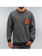 Just Rhyse Jumper Breast Pocket black