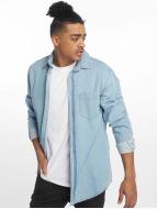 Just Rhyse Denim Shirt Light Blue Denim