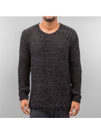 Knit Sweater Black/Antra...