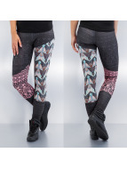 Just Rhyse Leggings/Treggings Bird czarny