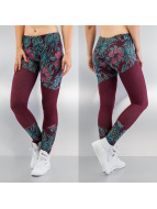 Just Rhyse Leggings/Treggings Flower kırmızı