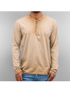 Just Rhyse Longsleeve Placket brown