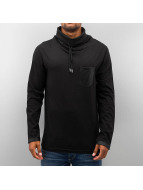 Just Rhyse Longsleeve High Neck schwarz