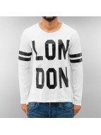 Just Rhyse Longsleeve London weiß