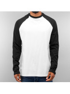 Just Rhyse Longsleeve 2 Tone wit