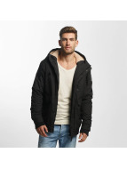 Just Rhyse Manteau hiver Warm Winter noir