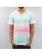 Melange T-Shirt Green/Re...