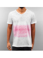 Melange T-Shirt White/Re...