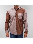 Just Rhyse overhemd Banger bruin