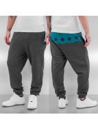 Just Rhyse Yonkers Sweat Pants Grey/Turquoise