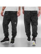 Just Rhyse Dots Sweat Pants Black