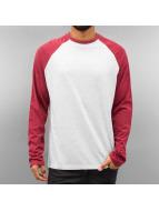 Just Rhyse Pitkähihaiset paidat Raglan punainen