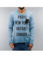 Just Rhyse Pitkähihaiset paidat Paris sininen