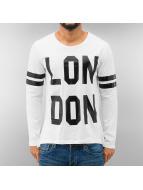 Just Rhyse Pitkähihaiset paidat London valkoinen