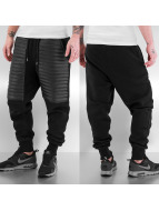 PU Sweat Pants Black...