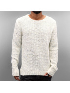 Just Rhyse Pullover Soft Knit blanc