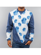 Just Rhyse Palms Sweatshirt Blue