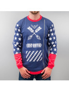 Just Rhyse Pullover Star bleu