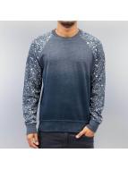 Just Rhyse Paint Splatter Sweatshirt Black