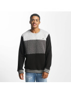 Just Rhyse Pullover Marble Place grau