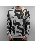 Just Rhyse Pullover Space Camp grau
