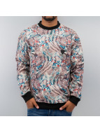 Just Rhyse Pullover All-Over Print gris