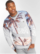 Just Rhyse Pullover Palms gris