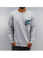 Just Rhyse Pullover JRCN380 gris