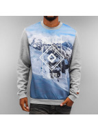 Just Rhyse Pullover Mountains gris