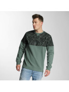 Just Rhyse Pullover Palms grün