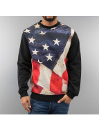 Just Rhyse Pullover USA noir