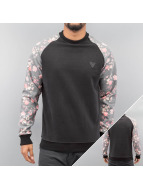 Just Rhyse Pullover Flower noir