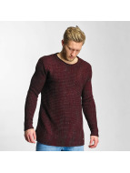Just Rhyse Pullover Soft Knit rouge