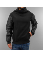 Just Rhyse Pullover Mock Neck schwarz