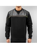 Just Rhyse Zipper Sweatshirt Black