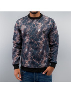 Just Rhyse Pullover All-Over Print schwarz