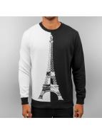 Just Rhyse Pullover Eiffel Tower schwarz