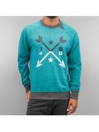 Just Rhyse Arrow Sweatshirt Turquoise/Grey