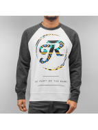 Just Rhyse Pullover The Game weiß