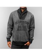 Just Rhyse California Beach Sweatshirt Black Melange