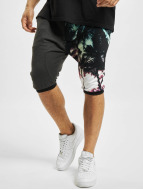 Just Rhyse Shorts Palmen noir