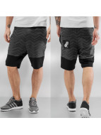 Just Rhyse Shorts Zick schwarz