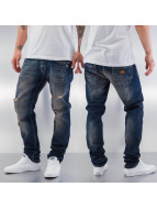 Just Rhyse Skinny jeans Paint blauw