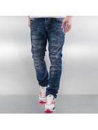 Just Rhyse Skinny jeans Oil blauw