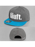 Just Rhyse Snapback Läuft šedá