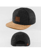 Just Rhyse Snapback Wood Rhyser šedá
