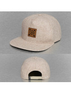 Just Rhyse Snapback Cap Logo beige
