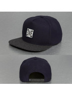 Just Rhyse Snapback Cap Logo blau