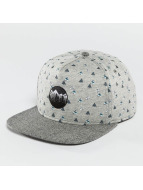 Just Rhyse Snapback Cap Happy Trees grigio