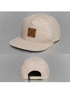 Just Rhyse Snapback Cap Logo khaki